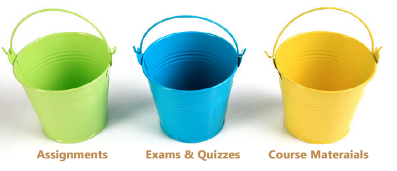 Course Bucket Organization