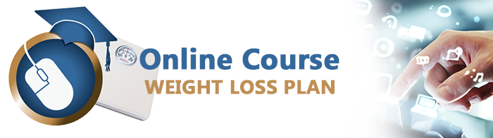 Online Course Weight Loss Plan Banner