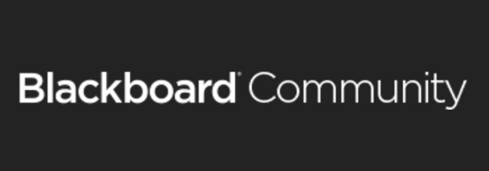 Blackboard Community Logo